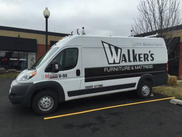 Walker's Furniture Van