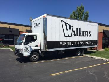 Walker's Furniture Box Truck