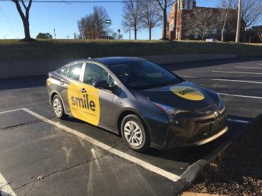 Smile! Pacific Dentistry Car Graphics