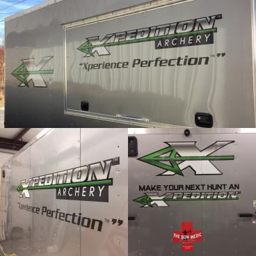 Trailer Decal for Bow Medic Archery Pro Shop