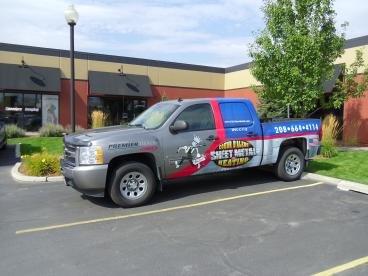 CDA Sheet Metal truck graphics