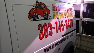 Brakes Plus Auto Glass: Print and Install        Metro Denver