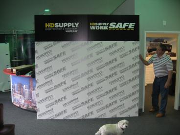 10' Hop Up Display