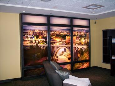 Huppins Electronics lifestyle backlighted room display