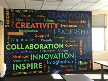 Wall Graphics: Arapahoe Community College: Word Wall