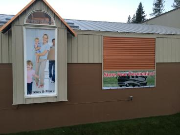 Storage Solutions window & banner graphics