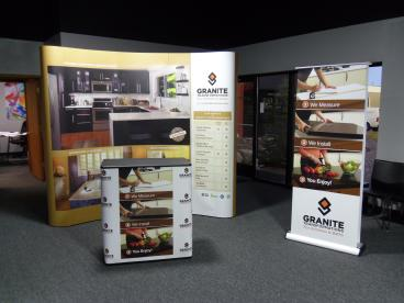 Granite Transformations - Full booth Tradeshow display