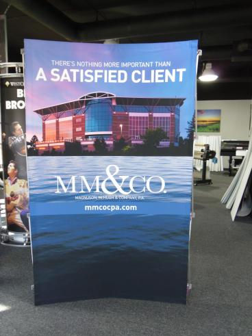 MM&Co Tension Fabric Display