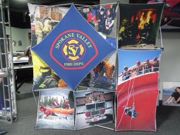 Spokane Valley Fire Department Display