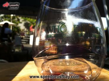 Whole Foods wine glasses