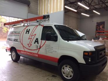 HA Electric LLC Vehicle Wrap