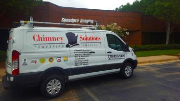 Chimney Solution Vehicle Wrap