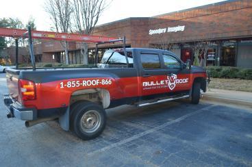 Bullet Roof Vehicle Wrap