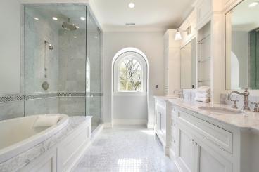 Clear Glass Steam Shower Room