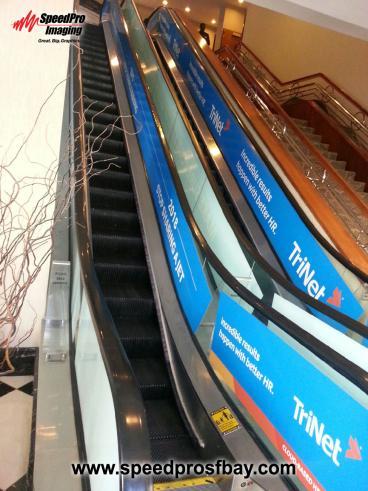 Escalator wrap