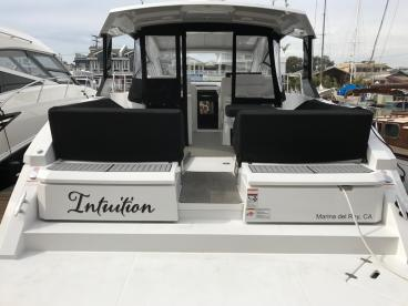Intuition Boat Decal