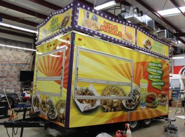 Carnival Trailer Wrap