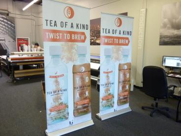 Tea of a Kind Retractable Banner Stands
