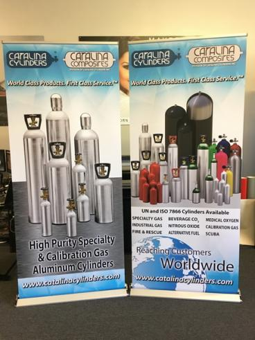 Catalina Composites Retractable Banner Stand