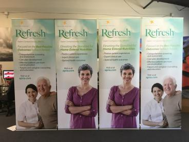 Leafa Refresh Retractable Banner Stands