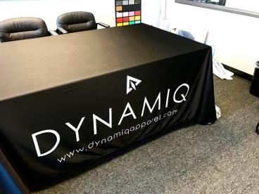 Dynamiq Apparel Black Table Throw