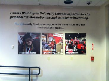 EWU Mission Wall