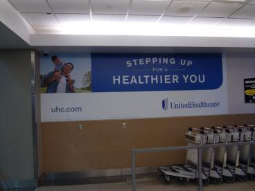 United HealthCare wall mural