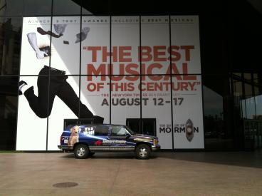 Book of Mormon show graphics