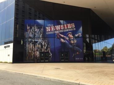Newsies - Best of Broadway INB windows