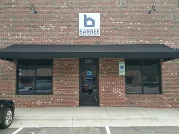 Exterior Wall Sign - Barbee Construction Services, LLC