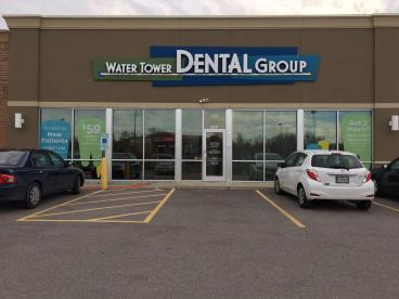 Pacific Dental Window Graphic Installation