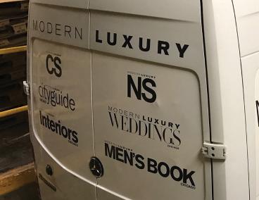 Modern Luxury: Vehicle Graphics