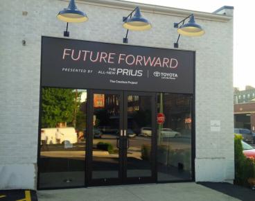 Prius Outdoor Vinyl Signage
