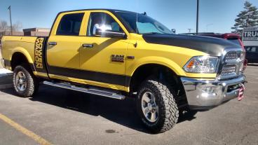 Dodge Power Wagon: Complete Color Change. Matte Black and Yellow