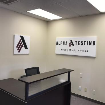 Canvas Office Signs