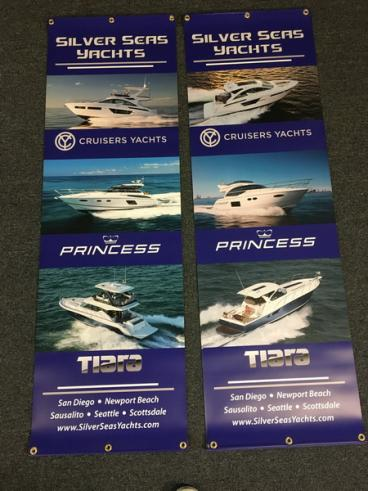 Silver Seas Yachts Double Sided SuperSmooth Banners