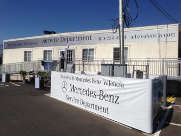 Sage Mercedes Benz Service Department Banner