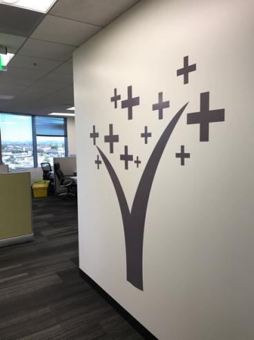 Landmark Health Wall Tree Decal