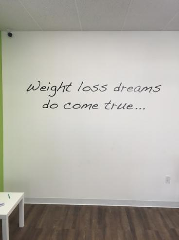 HB Weight Loss Decal