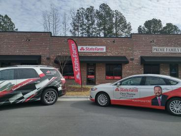 Graphics for local State Farm Agent Christ Thurow