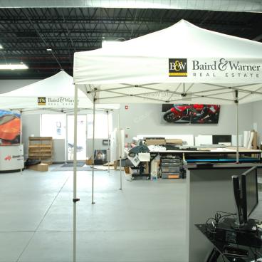 Baird & Warner Tent