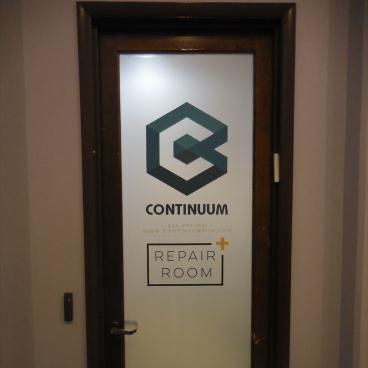 Continuum Gym Door