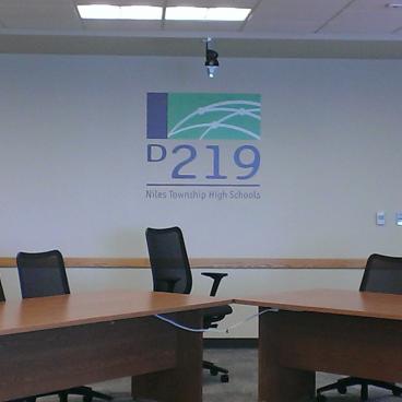 Dist 219 Board Room