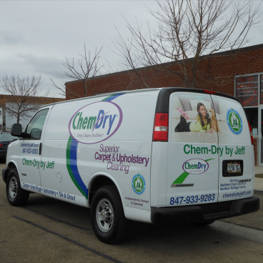 ChemDry Car Wrap