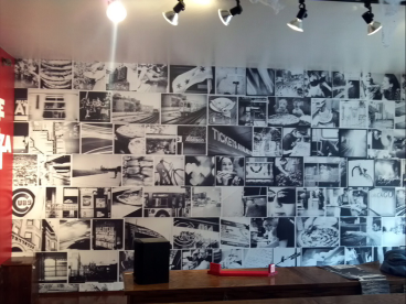 Vinyl Wall Mural for Dimo's