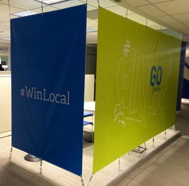 Go Digital Indoor Banners