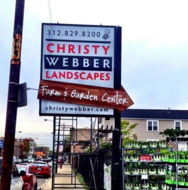 Christy Webber Landscapes Outdoor Sign