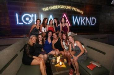 The Underground: Custom Neon Wall Wrap