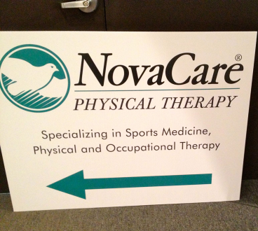 NovaCare Directional Signage