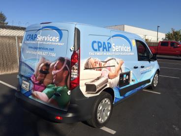 CPAP Delivery Van